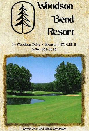 Golf Course Photo, Woodson Bend Resort | Woodson Bend Golf Course, Bronston, 42518