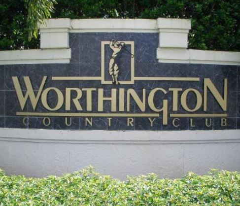 Golf Course Photo, Worthington Country Club, Bonita Springs, Florida, 34135