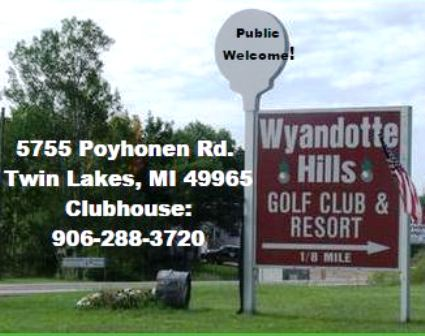 Wyandotte Hills Golf Club, Toivola, Michigan, 49965 - Golf Course Photo