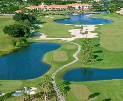 Wycliffe Country Club, East Course,Lake Worth, Florida,  - Golf Course Photo