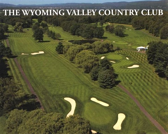 Wyoming Valley Country Club, Wilkes Barre, Pennsylvania,  - Golf Course Photo