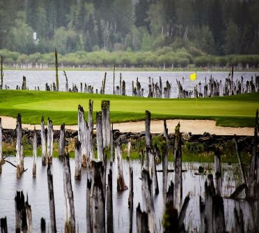 Golf Course Photo, Whitefish Lake Golf Club, South Course, Whitefish, 59937