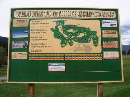 Mount Huff Golf Course,Crescent Mills, California,  - Golf Course Photo