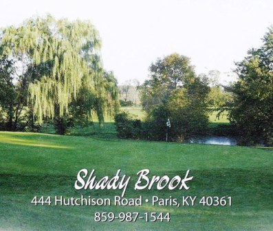 Shady Brook Golf Club,Paris, Kentucky,  - Golf Course Photo