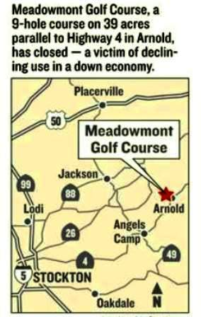 Meadowmont Golf Course, CLOSED 2011,Arnold, California,  - Golf Course Photo