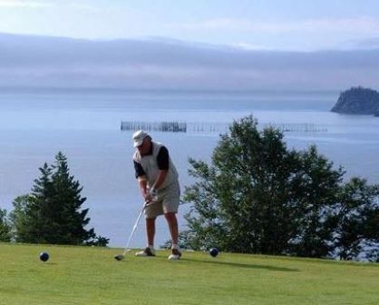 Herring Cove Provincial Park Golf Club,Campobello, New Brunswick,  - Golf Course Photo