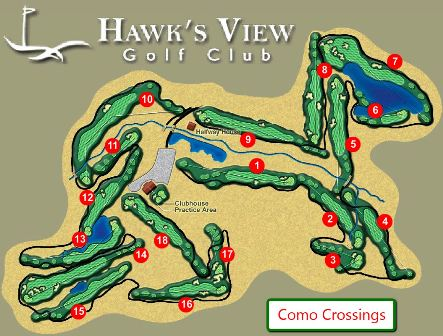 Hawks View Golf Club, Como Crossings,Lake Geneva, Wisconsin,  - Golf Course Photo