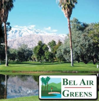 Golf Course Photo, Bel Air Greens, CLOSED 2014, Palm Springs, 92264