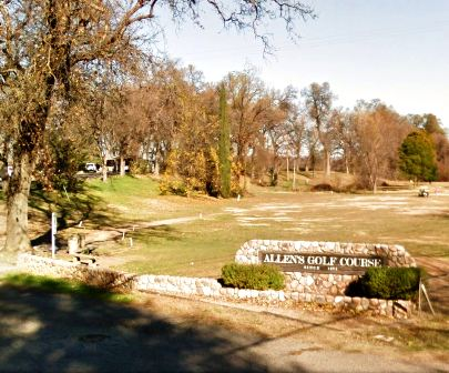 Allens Golf Course,Redding, California,  - Golf Course Photo